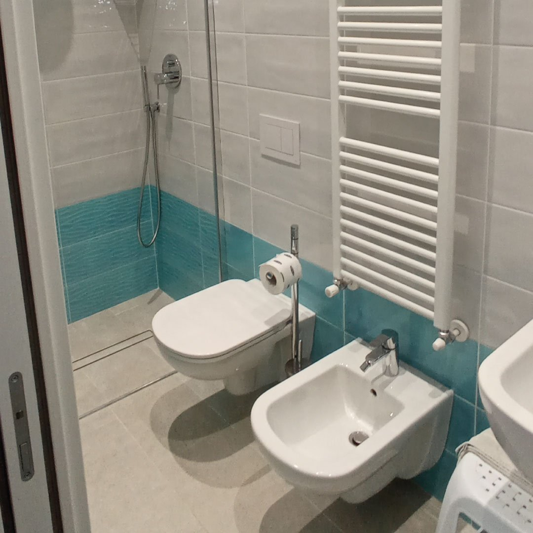 Bagno della camera singola